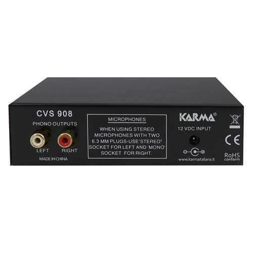 KARMA CVS 908 PREAMPLIFICATORE PHONO-MIC