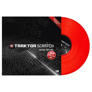 TRAKTOR VINYL CONTROL RED MKII  - TIME CODE
