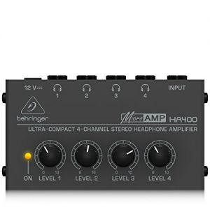 BEHRINGER  MICRO AMP HA 400