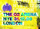 LIVE - THE 02 ARENA - NYE 31/12/2009 - LONDON