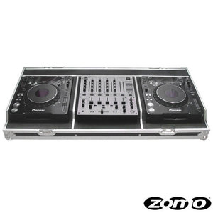 Zomo Set 1000 per 2 x CD-Player CDJ-2000/1000 e per 1 x Mixer DJM-600/700/800