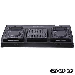Zomo Set 2000 NSE Flightcase for 2 x CDJ 2000 CDJ 900 and 1 x DJM 800