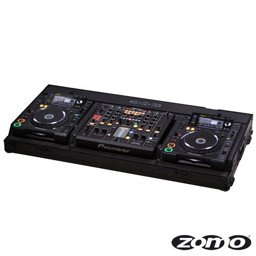 Zomo Set 2200 NSE Flightcase for 2 x CDJ 2000 and 1 x DJM 2000