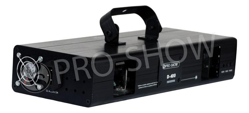 LASER PRO SHOW D 400