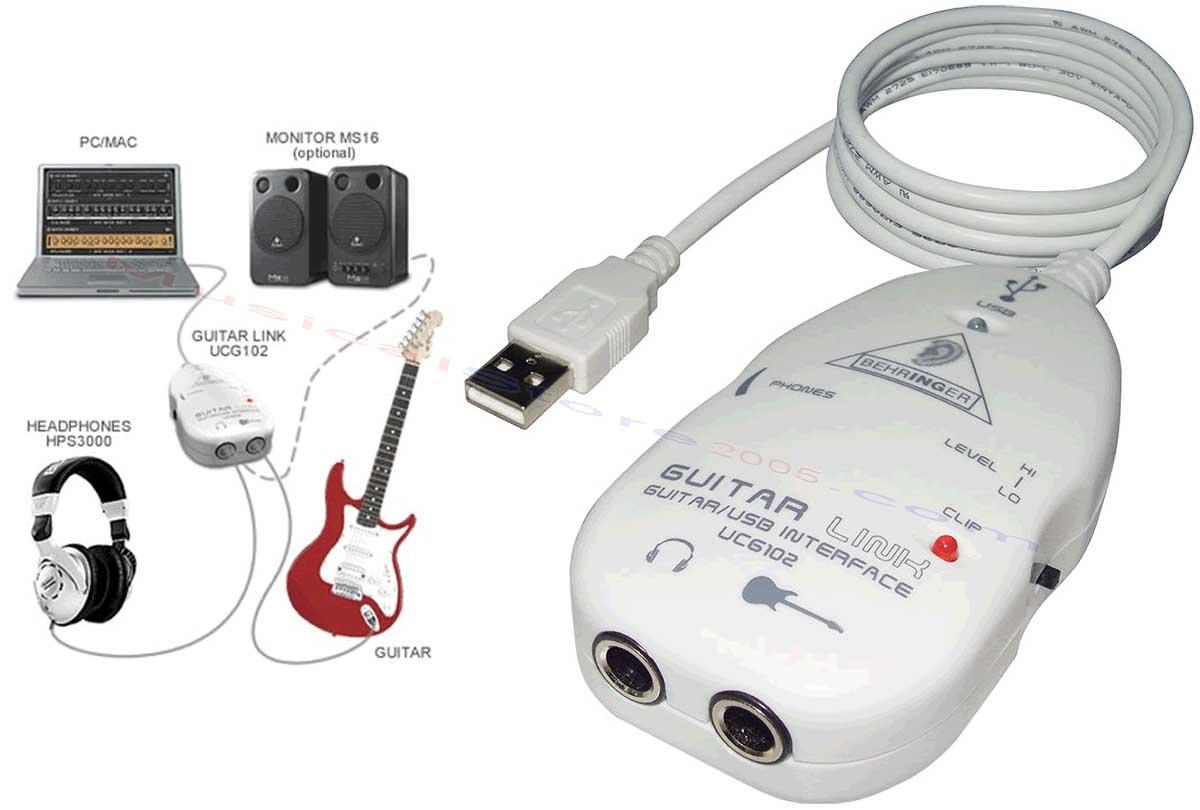Behringer Guitar Link Ucg102 Download Stats