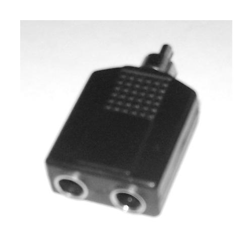 Adattatore Audio RCA MASCHIO a 2x Jack Mono 6,3mm F