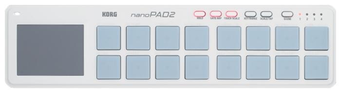 KORG nano PAD 2 White