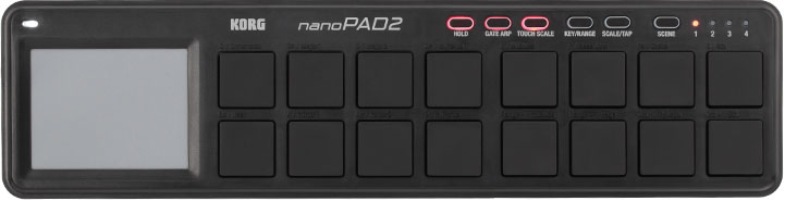 KORG nano PAD 2 Black
