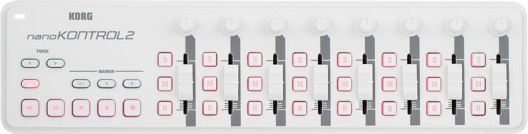 KORG nano KONTROL 2 White