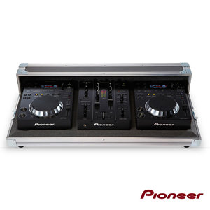 PIONEER Case+ DJM 350, CDJ 350x2, HDJ 500-K (BLACK)