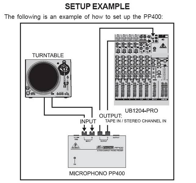BEHRINGER MICROPHONO PP 400