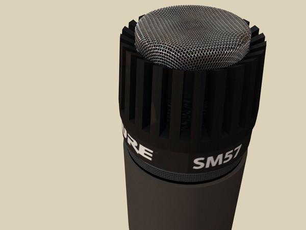 SHURE SM 57 MICROFONO PER STRUMENTI