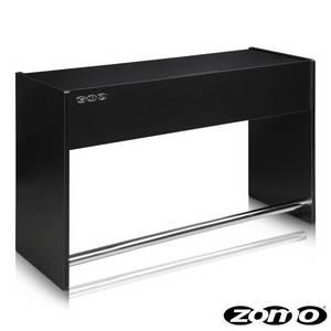 Zomo DJ Giradischi Work Station Ibiza 150 nero/bianco