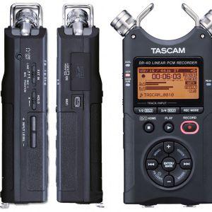 TASCAM DR 40 V2 + SD 2GB OMAGGIO