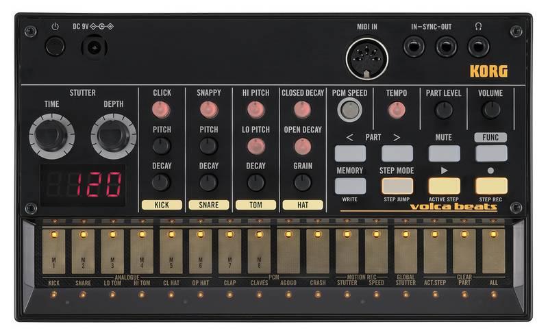 KORG Volca Beats - Data prevista di arrivo: 05-04-2020