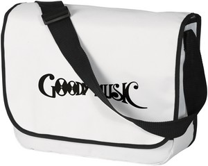 GOODY MUSIC VINYL BAG WHITE LOGO BLACK