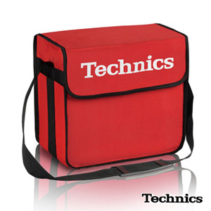 TECHNICS DJ BAG RED