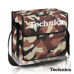 TECHNICS DJ BAG CAMO-DESERT