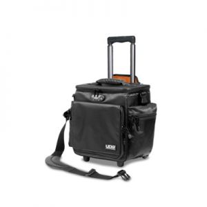 UDG ULTIMATE SLINGBAG TROLLEY DELUXE BLACK/ORANGE INSIDE