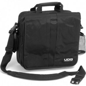 UDG COURIER BAG DELUXE BLACK/ORANGE INSIDE