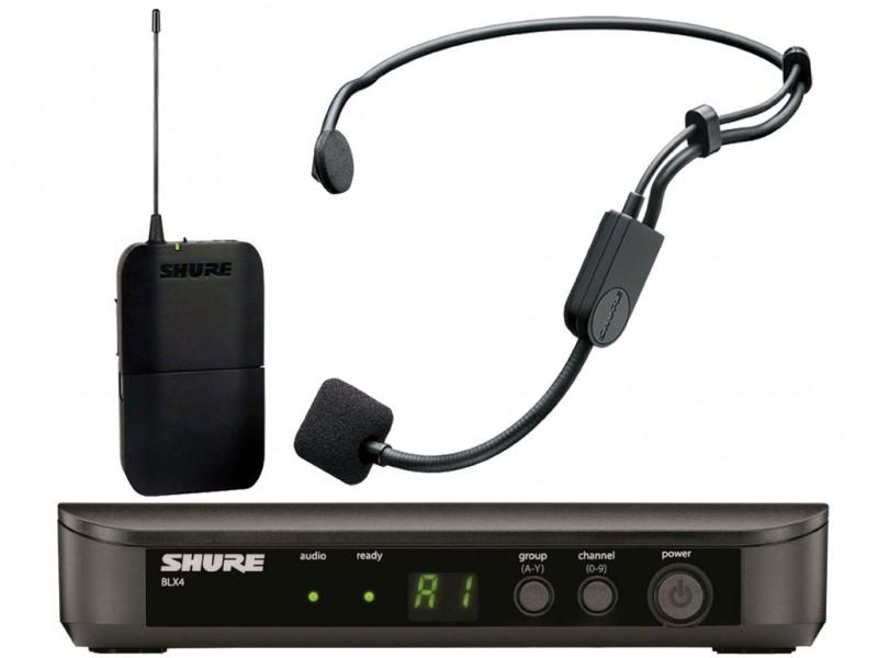 Shure blx e p sistema wireless con microfono ad archetto