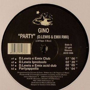 PARTY (D.LEWIS & EMIX RMX)