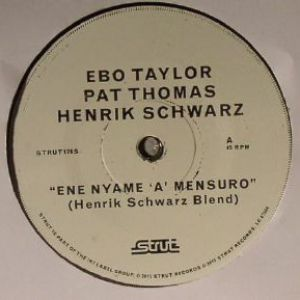EYE NYAME A MENSURO - HENRIK SCHWARZ REMIXES