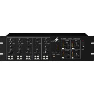 MONACOR PA 4040 MPX -  Mixer a 4 zone