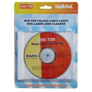 karma DVD 730 kit pulizia per dvd