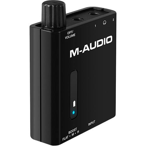 M AUDIO BASS TRAVELER - amplificatore portatile per due cuffie