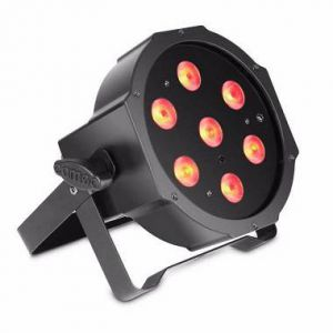 Par 64 Led SLIM Atomic4DJ Serie EC 7*10Watt 3in1 cod. 61077