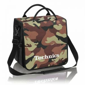 TECHNICS BACKBAG CAMOUFLAGE/BROWN
