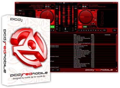 PCDJ THE ULTIMATE MP3 SOFTWARE RED