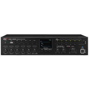 MONACOR AMPLI MIXER 5 zone con internet radio e mp3. 100v 480w
