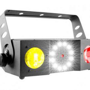 EFFETTO LUCE ATOMIC4DJ TWIN200 LED+LASER