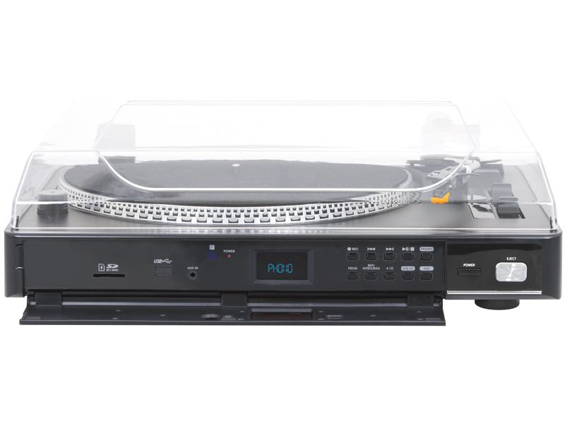 TREVI TT 1075 E GIRADISCHI A CINGHIA CON ENCODING MP3/USB/SD