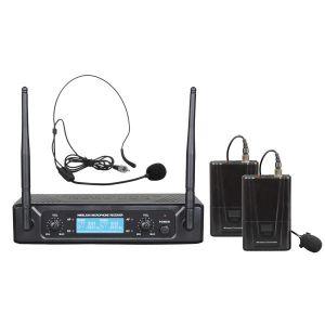 ZZIPP TXZZ520 SET DOPPIO RADIOMICROFONO UHF 674,20/694,00