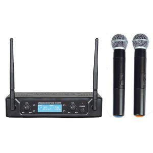 ZZIPP TXZZ512 SET DOPPIO RADIOMICROFONO A GELATO UHF 677,70/696,10