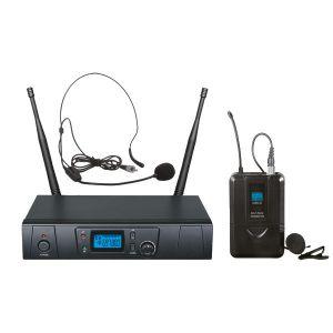ZZIPP TXZZ601 SET RADIOMICROFONO AD ARCHETTO UHF 16CH
