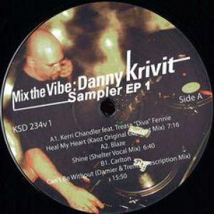 MIX THE VIBE - DANNY KRIVIT SAMPLER EP 1