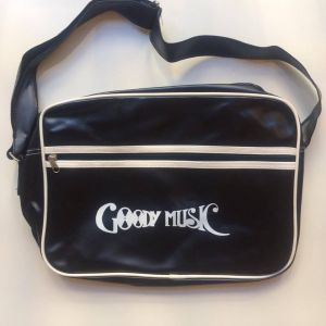 GOODY BAG BLACK IN PELLE
