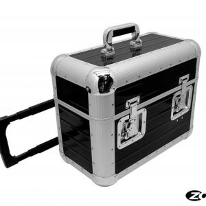 ZOMO RECORD CASE TP 70 XT BLACK - TROLLEY