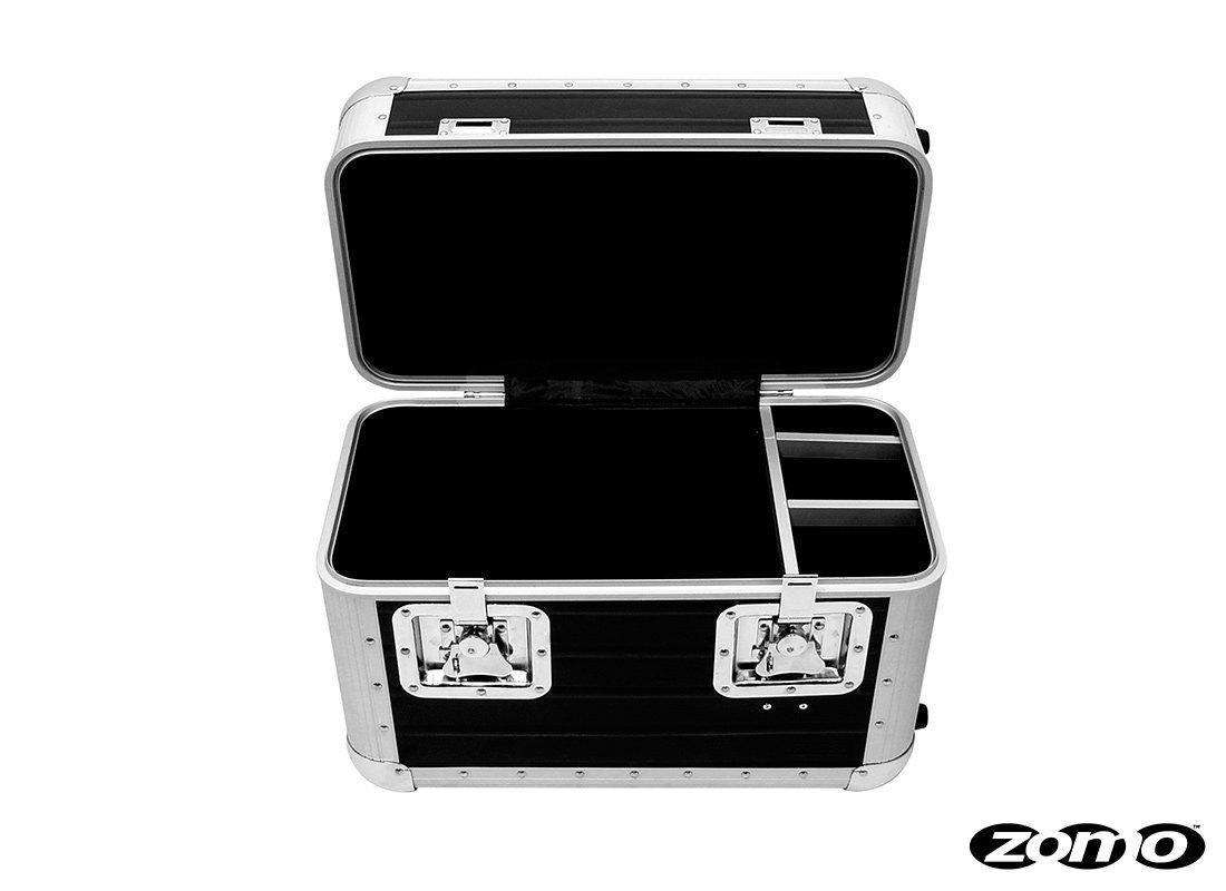 ZOMO RECORD CASE TP 70 XT BLACK - TROLLEY