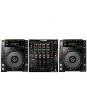 PIONEER 2000 NXS2 Bundle (2x CDJ 2000 NXS2 + 1x DJM 900 NXS2) + Spedizione Gratuita