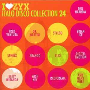 I LOVE ZYX ITALO DISCO COLLECTION 24 (3CD)