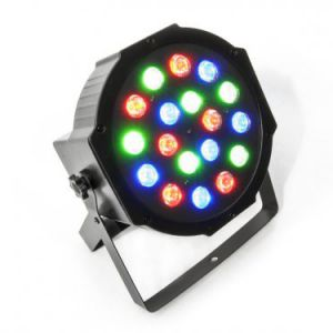 ATOMIC 4DJ PAR LED 64 -  Par EC 183 - 18 LED 3 Watt - (6 Red 6 Green 6 Blue)