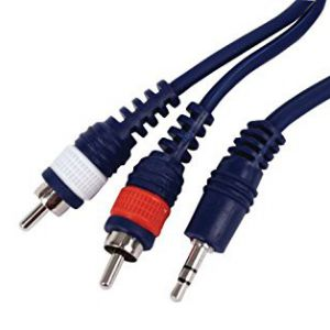PRO SHOW Cavo Audio 1X Jack 3,5 St / 2X Rca Maschio, 1.5 mt CO. CL 140-015