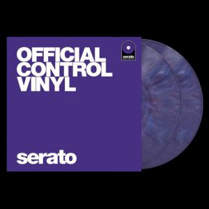 SERATO OFFICIAL CONTROL VINYL PURPLE - COPPIA DI DISCHI TIME CODE