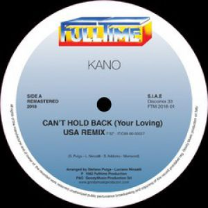CAN'T HOLD BACK (YOUR LOVING)/FALL INTO A TRANCE (USA REMIXES)