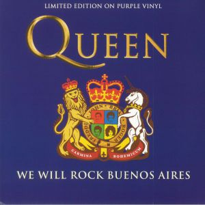 WE WILL ROCK YOU BUENOS AIRES (PURPLE VINYL)